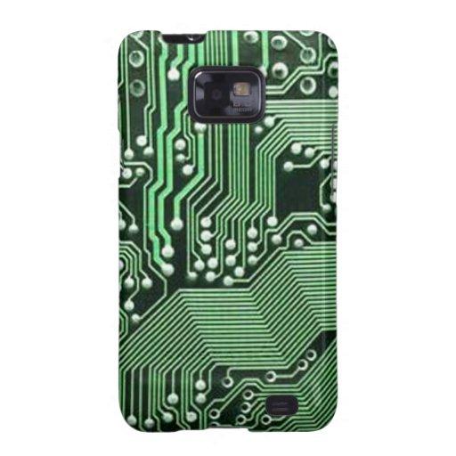 Placa de circuito del ordenador galaxy s2 carcasa