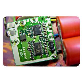 Placa de circuito del ordenador portátil imán rectangular