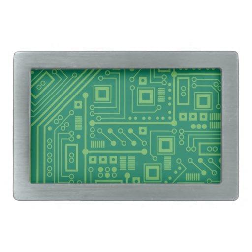 Placa de circuito del robot hebilla de cinturón rectangular
