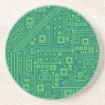 Placa de circuito del robot posavasos manualidades