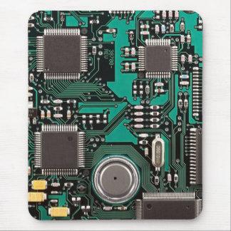 Placa de circuito divertida alfombrilla de ratón
