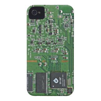 Placa de circuito divertida carcasa para iPhone 4