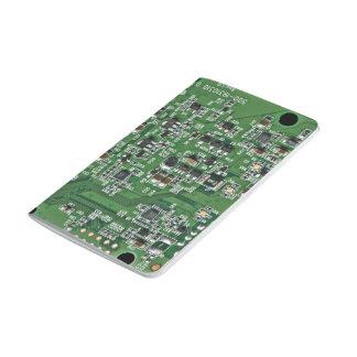 Placa de circuito divertida cuadernos grapados