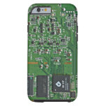 Placa de circuito divertida funda de iPhone 6 tough