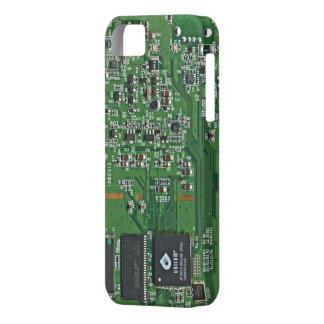 Placa de circuito divertida iPhone 5 funda