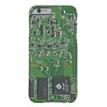 Placa de circuito divertida funda de iPhone 6 slim
