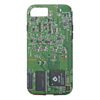 Placa de circuito divertida funda iPhone 7