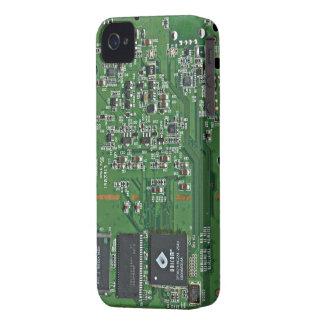 Placa de circuito divertida funda para iPhone 4