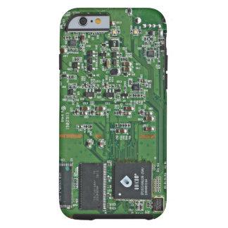 Placa de circuito divertida funda resistente iPhone 6