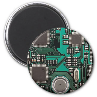 Placa de circuito divertida iman para frigorífico