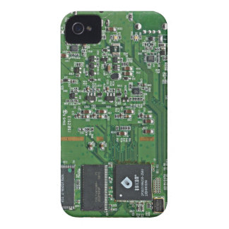 Placa de circuito divertida iPhone 4 carcasas