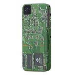 Placa de circuito divertida iPhone 4 cobertura