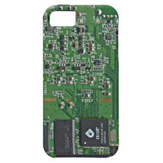 Placa de circuito divertida iPhone 5 fundas