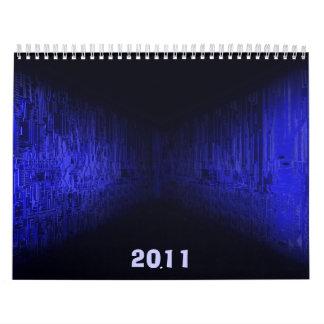 placa de circuito electrónica, 2011 calendarios