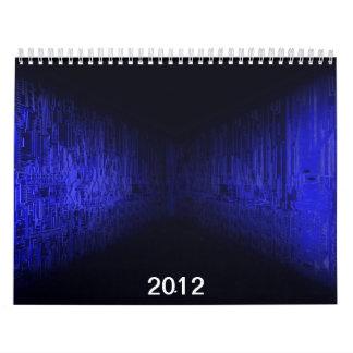 placa de circuito electrónica, 2012 calendario
