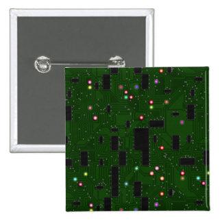 Placa de circuito electrónica impresa pin cuadrado