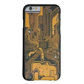 Placa de circuito funda de iPhone 6 barely there