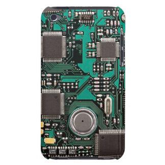 Placa de circuito barely there iPod protectores