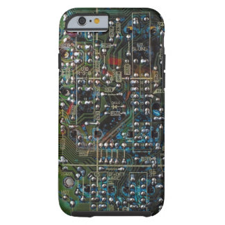 Placa de circuito funda de iPhone 6 tough