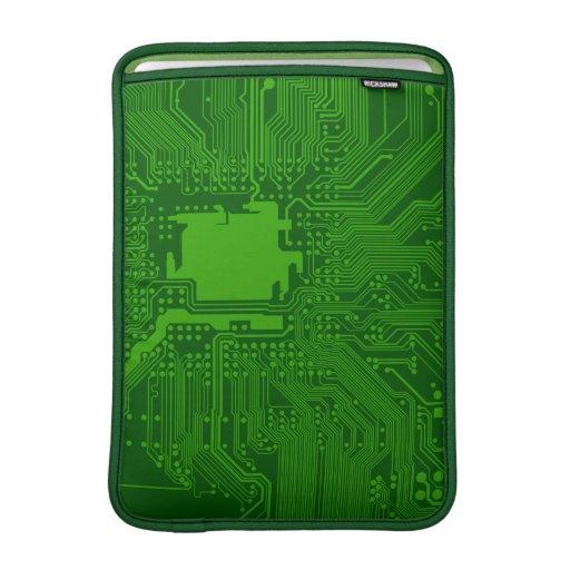 Placa de circuito funda para macbook air