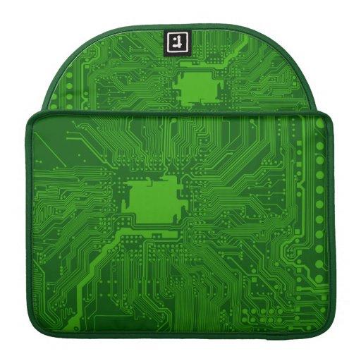Placa de circuito funda para macbook pro