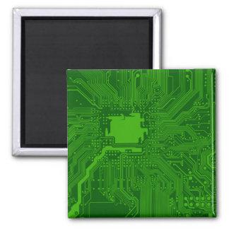 Placa de circuito imanes