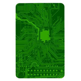 Placa de circuito imán