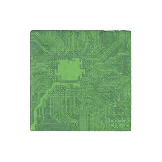 Placa de circuito imán de piedra