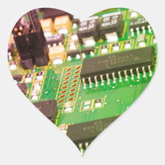 Placa de circuito impresa - PWB Pegatina En Forma De Corazón