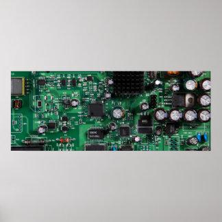 Placa de circuito impresiones