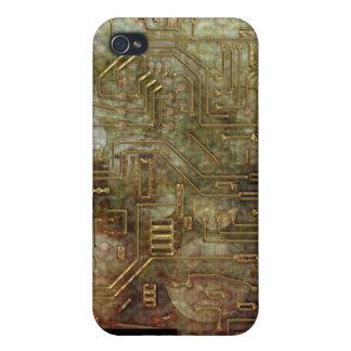 Placa de circuito iPhone4 de Steampunk iPhone 4 Carcasas