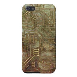 Placa de circuito iPhone4 de Steampunk iPhone 5 Carcasas
