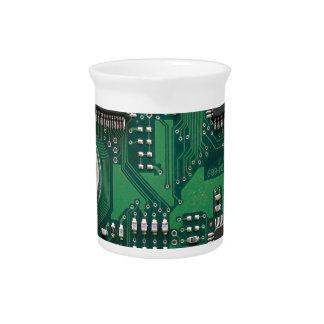 Placa de circuito jarron