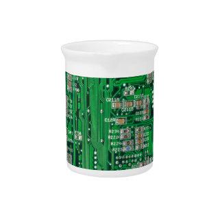 Placa de circuito jarra de beber
