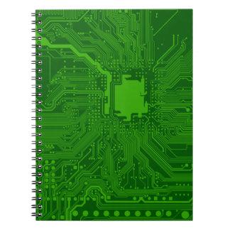 Placa de circuito cuadernos