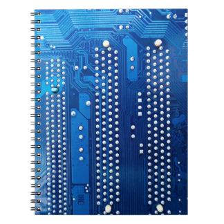 Placa de circuito libros de apuntes