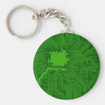 Placa de circuito llaveros personalizados