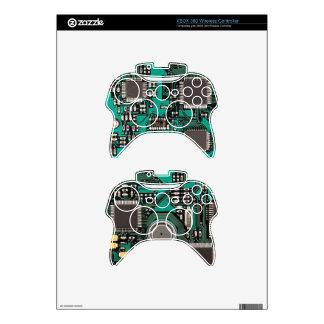 Placa de circuito mando xbox 360 skin