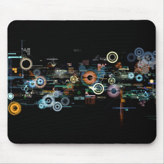 Placa de circuito - negro tapete de ratones