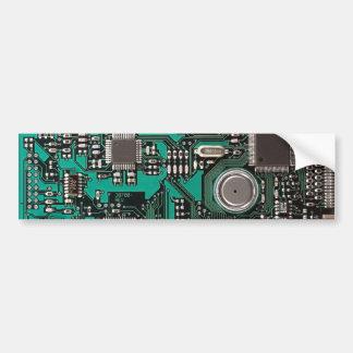 Placa de circuito pegatina para auto