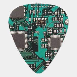 Placa de circuito plumilla de guitarra