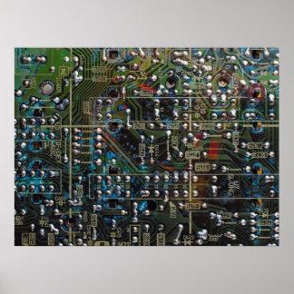 Placa de circuito póster