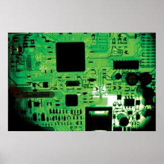 Placa de circuito poster