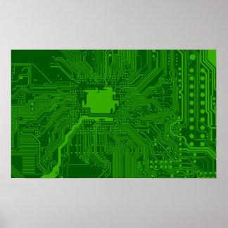 Placa de circuito posters