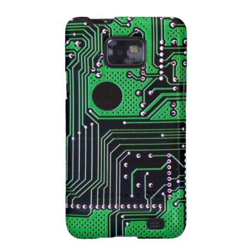 Placa de circuito (PWB) - color verde Galaxy SII Carcasa