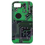 Placa de circuito (PWB) - color verde iPhone 5 Case-Mate Carcasas
