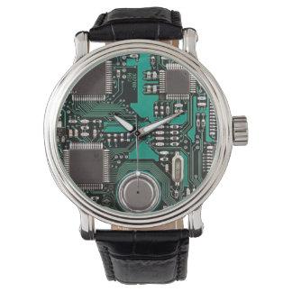 Placa de circuito relojes de pulsera