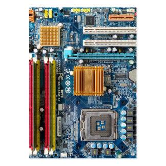 Placa de circuito tarjetas de negocios