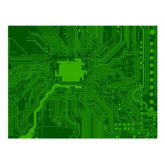 Placa de circuito postales