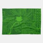 Placa de circuito toallas